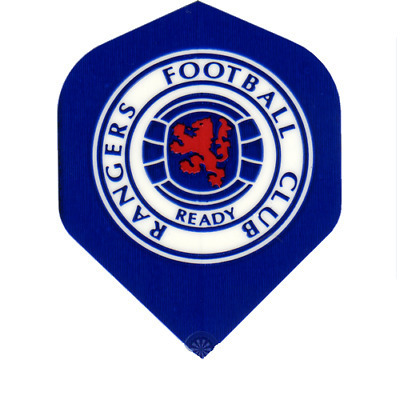 Fussball Flight Logo Glasgow Rangers