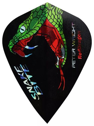 Red Dragon Snakebite Holographic Flight kite