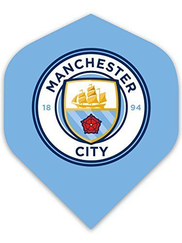 Fussball Flight Logo Manchaster City